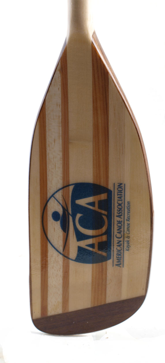 ACA custom kayak paddle