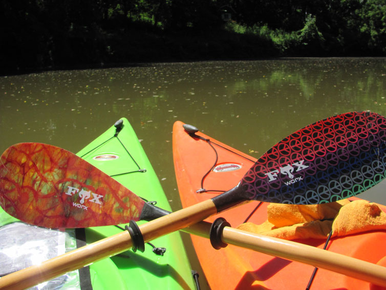 Welcome To Foxworx Paddles