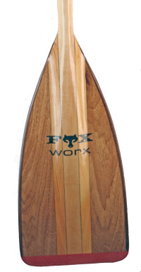 FoxWorx Standard bent shaft canoe paddle - Click Image to Close